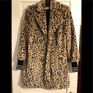 Cabi leopard winter coat new